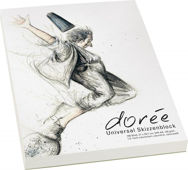 Dorée Universal-Skizzenblock (Dorée V120)
