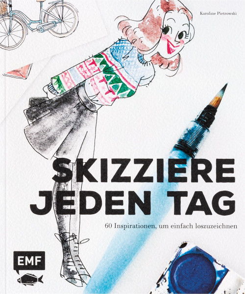 MONAT_2021-02_Feb: Karoline Pietrowski: Sketch Your life - Skizziere jeden Tag