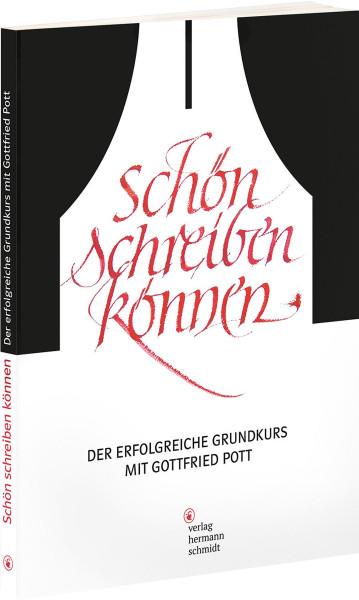 Schön schreiben können (Gottfried Pott)   Verlag Hermann Schmidt