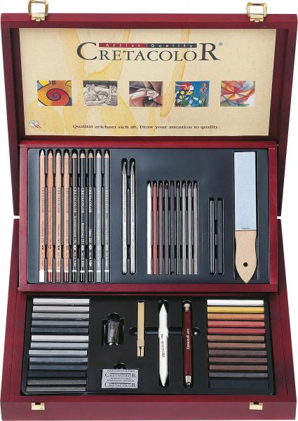 Brevillier's Cretacolor Selection Künstler-Set