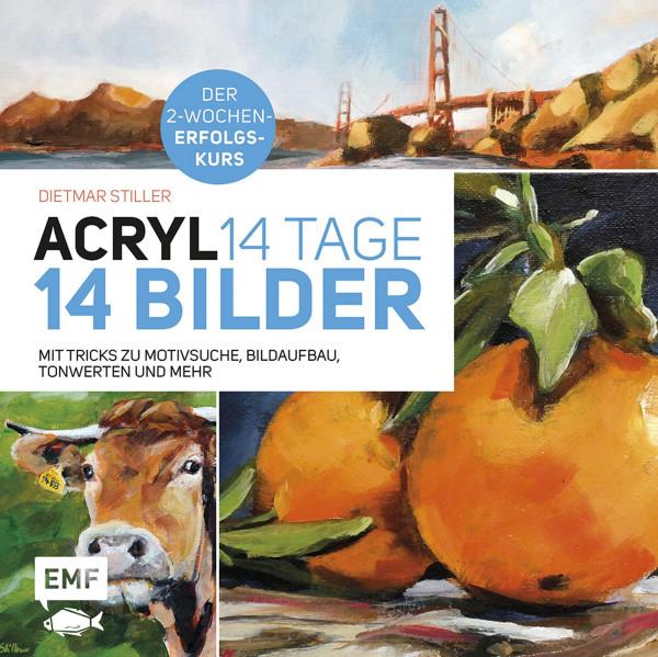 MONAT_2020-12_Dez: Acryl: 14 Tage – 14 Bilder (Dietmar Stiller)   Edition Michael Fischer